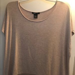 NWOT-Women's SS High/Low Tunic-Size XL